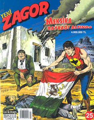 Yeni Zagor Meksika Bayrağı Altında Sayı: 25