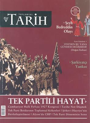 Toplumsal Tarih Dergisi Sayı: 106