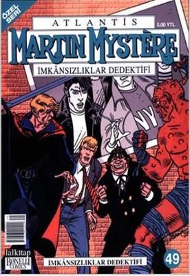 Atlantis Martin Mystere Yeni Seri Sayı: 49 29 Şubat İmkansızlıklar Dedektifi