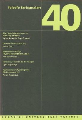 Felsefe Tartışmaları Sayı: 40