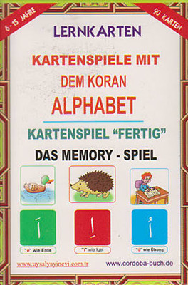 Lernkarten - Kartenspiele Mit Dem Koran Alphabet / Kartenspiel Fertig Das Memory - Spiel