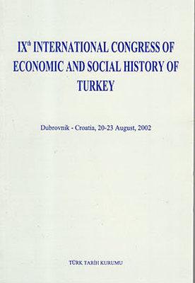 9. International Congress Of Economic and Social History of Turkey
