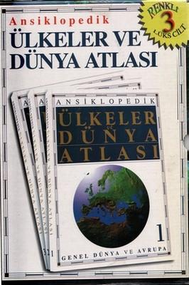 Ansiklopedik Ülkeler ve Dünya Atlası 3 Cilt Takım