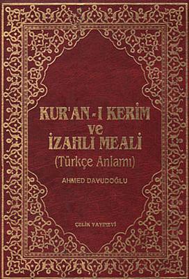 Kur'an-ı Kerim ve İzahlı Meali (Cami Boy, Kutulu)