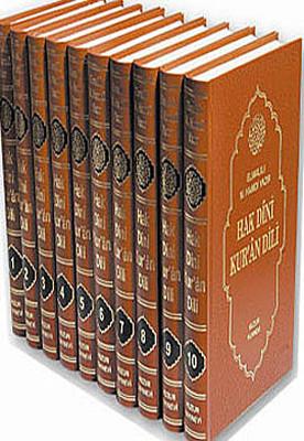 Hak Dini Kur'an Dili (10 Kitap Takım - 1. Hamur)