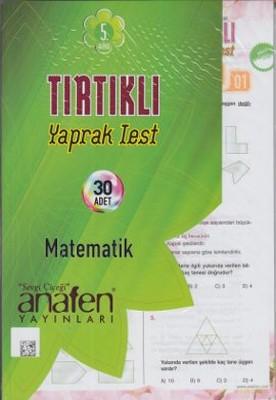 Anafen 5. Sınıf Tırtıklı Yaprak Test Matematik
