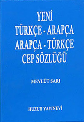 Arapça-Türkçe Cep Sözlüğü (Mavi Kapak)