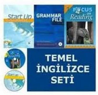 Temel İngilizce Seti (3 Kitap + 2 CD)
