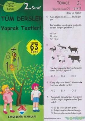2. Sınıf Tüm Dersler Yaprak Testleri