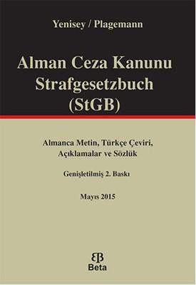 Alman Ceza Kanunu Strafgesetzbuch STGB