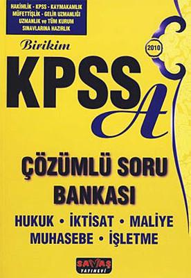 Birikim KPSS A Çözümlü Soru Bankası