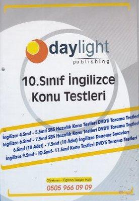 10. Sınıf İngilizce Konu Testleri