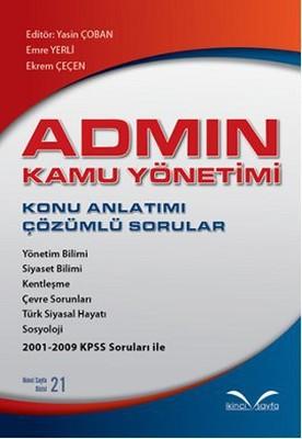 Admin Kamu Yönetimi - Konu Anlatımı - Çözümlü Sorular