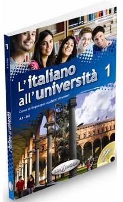 L'Italiano All' Universita 1 +CD (İtalyanca Temel ve Orta-Alt Seviye)