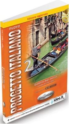 Nuovo Progetto Italiano 2 Quaderno Degli Esercizi +2 CD (İtalyanca Orta ve Orta-Üst Seviye)
