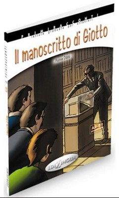 Il Manoscritto di Giotto +CD - İtalyanca Okuma Kitabı Orta Seviye (A2-B1)