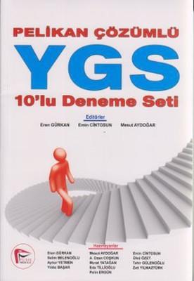 Pelikan Çözümlü YGS 10'lu Deneme Seti