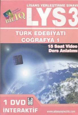 BİL IQ - LYS 3 Türk Edebiyatı - Coğrafya 1 - İnteraktif DVD Seti (15 Saat Video Ders Anlatımı)