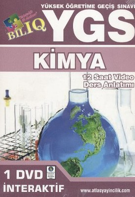 BİL IQ - YGS Kimya Hazırlık İnteraktif DVD Seti (12 Saat Video Ders Anlatımı)