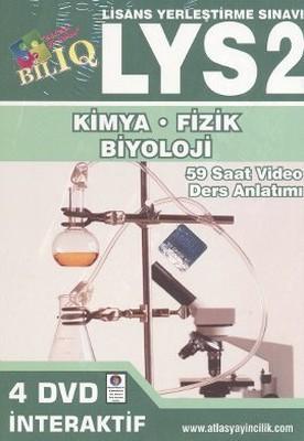 BİL IQ LYS 2 Fizik - Kimya - Biyoloji İnteraktif DVD Seti (4 DVD)