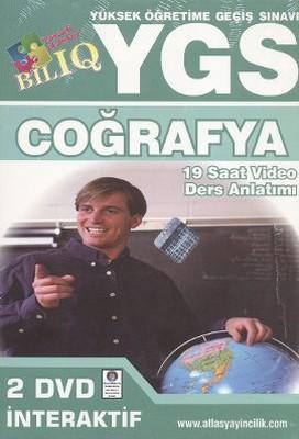 BİL IQ YGS Coğrafya Hazırlık İnteraktif DVD Seti (19 Saat Video Ders Anlatımı)