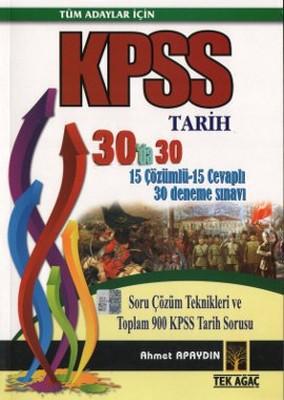 Tüm Adaylar İçin KPSS Tarih 30'da 30