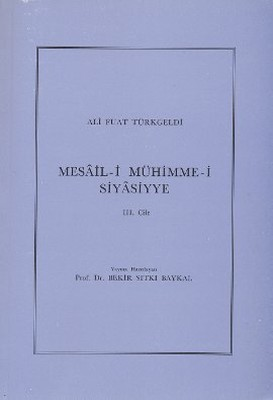 Mesail-i Mühimme-i Siyasiyye 3. Cilt