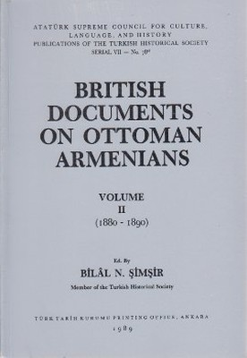 British Documents On Ottoman Armenians Volume 2 1880 - 1890