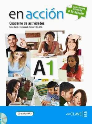En Accion A1 Cuaderno de Actividades (Etkinlik Kitabı + CD) İspanyolca Temel Seviye