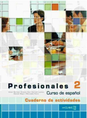 Profesionales 2 Cuaderno de Actividades (Etkinlik Kitabı+CD) İspanyolca Orta Seviye