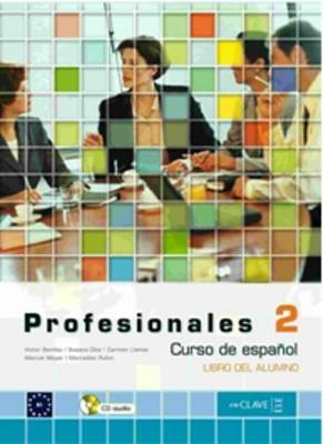 Profesionales 2 Libro del Alumno (Ders Kitabı+CD) İspanyolca Orta Seviye