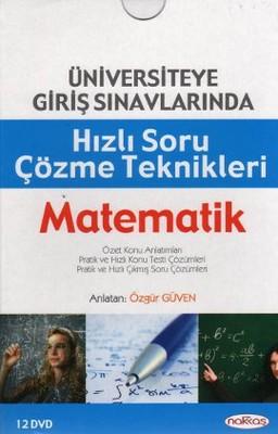 Üniversiteye Giriş Sınavlarında Hızlı Soru Çözme Teknikleri Matematik (12 DVD)