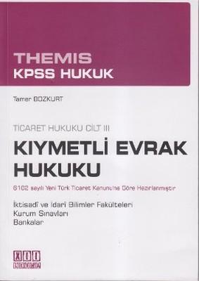 Themis KPSS Hukuk - Kıymetli Evrak Hukuku