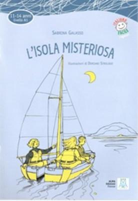 L'isola Misteriosa + CD (İtalyanca Okuma Kitabı Temel Seviye (11-14 yaş) A1