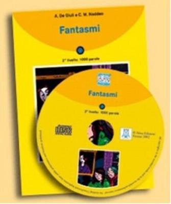 Fantasmi + CD (İtalyanca Okuma Kitabı Temel-Üst Seviye) A1-A2