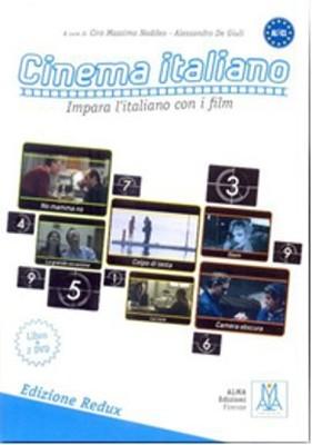 Cinema Italiano Redux (Kitap+DVD) Filmlerle İtalyanca A1-C1 Impara l'italiano Con i Film