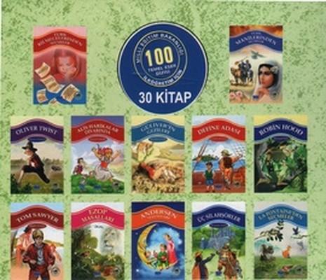 100 Temel Eser Seti - 30 Kitap Takım