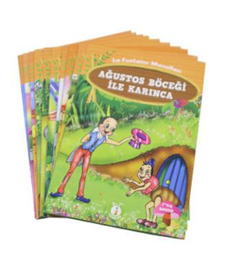 La Fontaine Masalları (10 Kitap Takım - Küçük Boy)