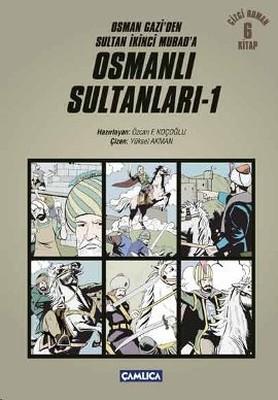 Osman Gazi'den Sultan İkinci Murad'a Osmanlı Sultanları - 1
