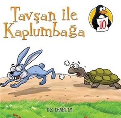 Değerler Eğitimi Öyküleri 10:Tavşan ile Kaplumbağa-Öz Denetim-Küçük Boy