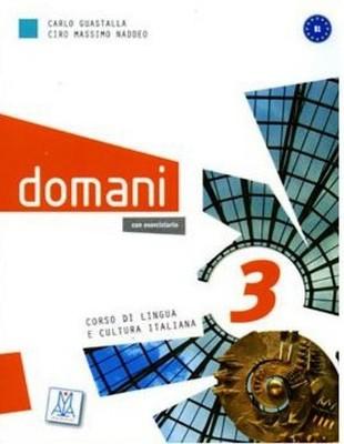Domani 3 B1 (Kitap+DVD) Orta Seviye İtalyanca