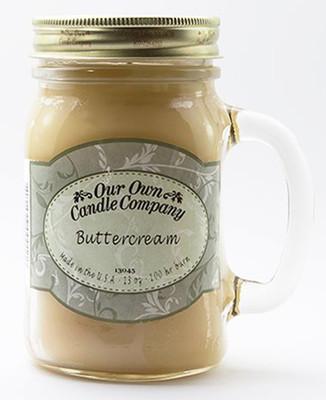 Buttercream Büyük Kavanoz Mum SIC1-BC
