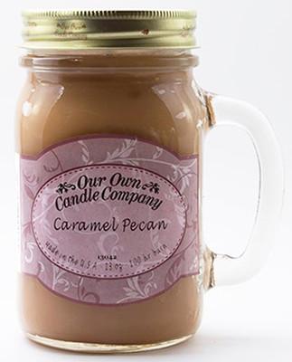 Caramel Pecan Büyük Kavanoz Mum SIC1-CAR