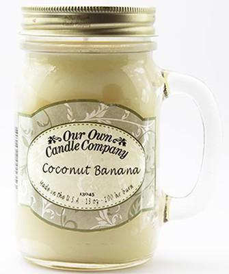 Coconut / Banana Büyük Kavanoz Mum SIC1-CB