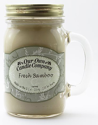 Fresh Bamboo Büyük Kavanoz Mum SIC1-FBB