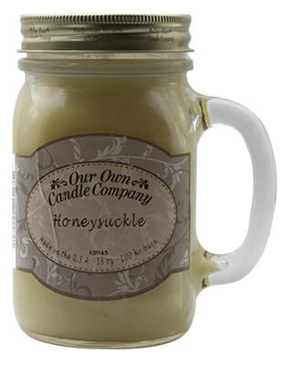 Honeysuckle Büyük Kavanoz Mum SIC1-HS