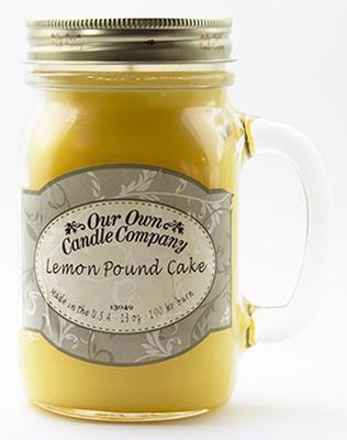 Lemon Pound Cake Büyük Kavanoz Mum SIC1-LP