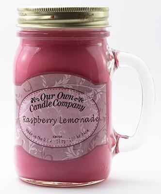 Raspberry Lemonade Büyük Kavanoz Mum SIC1-RL