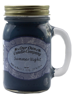 Summer Night Büyük Kavanoz Mum SIC1-SN