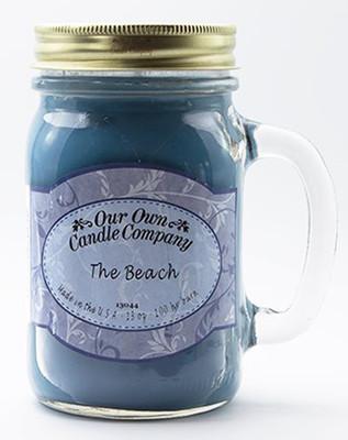 The Beach Büyük Kavanoz Mum SIC1-OB